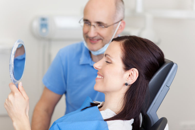 patient with Emergency Dentist Wayland