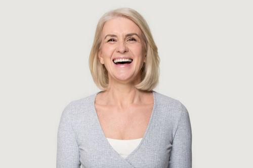 Best dentist in wellesley   patient smiling
