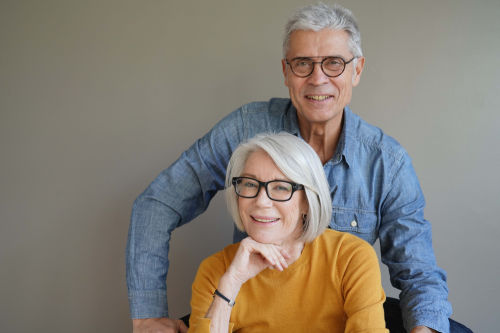 Best dentist in wayland: couple smiling