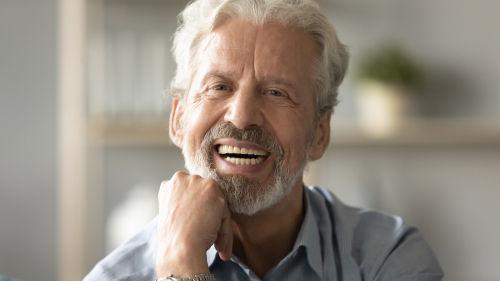 Dentist Office Wayland | Patient smiling